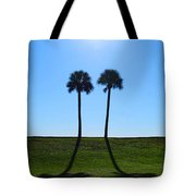 Stand By Me - Palm Tree Art By Sharon Cummings Tote Bag