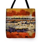 Stand By Me Tote Bag by Vickie Warner