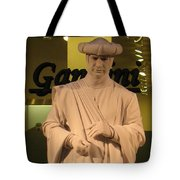 Living Statue Tote Bag