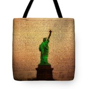 Stand Up For Freedom Tote Bag