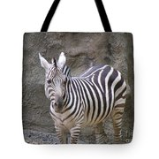 Standalone Zebra Tote Bag