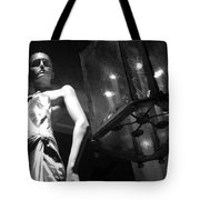 Standing Guard On Rodeo Drive Tote Bag