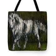 Standing Horse Profile Tote Bag
