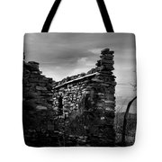 Standing In Silence Tote Bag