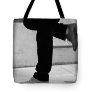 Standing Motion  Tote Bag