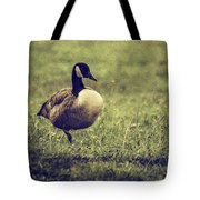 Standing On One Leg Tote Bag