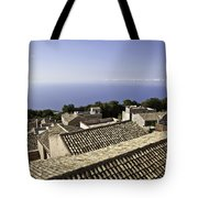 Standing On Top Of The World Tote Bag