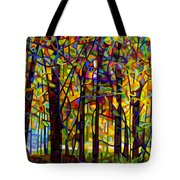Standing Room Only Tote Bag by Mandy Budan