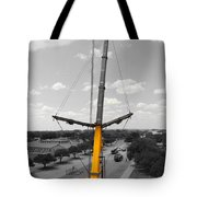 Standing Tall Bw Tote Bag