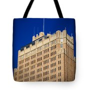 Standing Tall In San Antonio Tote Bag