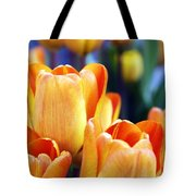 Standing Tall Tulips Tote Bag