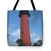 Standing Up Above The Trees Tote Bag