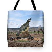 Standing Watch Of The Vineyard Tote Bag