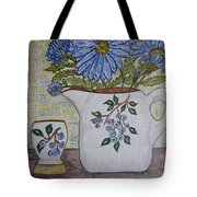 Stangl Blueberry Pottery Tote Bag