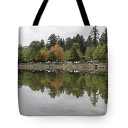 Stanley Park In Vancouver Bc Canada Tote Bag