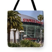 Staples Center In Los Angeles California Tote Bag