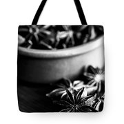 Star Anise Dish Tote Bag by Anne Gilbert