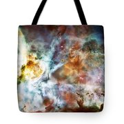 Star Birth In The Carina Nebula  Tote Bag