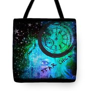 Star Child - Time To Go Home Tote Bag