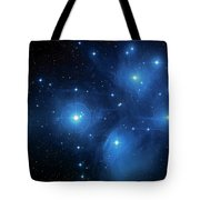 Star Cluster Pleiades Seven Sisters Tote Bag by Jennifer Rondinelli Reilly - Fine Art Photography