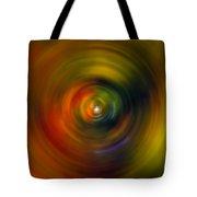 Star Cradle Spin Art Tote Bag
