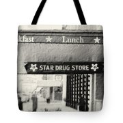 Star Drug Store Marquee Tote Bag