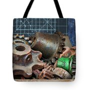 Star Gears Tote Bag