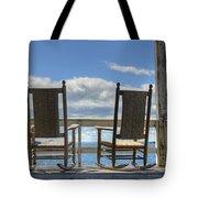 Star Island Rocking Chairs Tote Bag