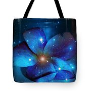 Star Light Plumeria Tote Bag