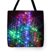 Star Like Christmas Lights Tote Bag