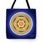 Star Of Energy Tote Bag