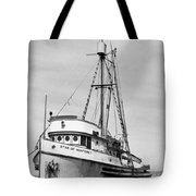 Star Of Monterey In Monterey Harbor Circa 1948 Tote Bag