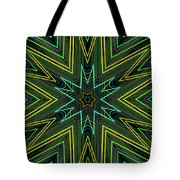 Star Of Threads Tote Bag