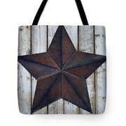 Star On Barn Wall Tote Bag