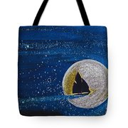 Star Sailing By Jrr Tote Bag by First Star Art