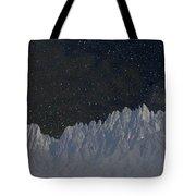 Star Shine Organ Mountains Tote Bag