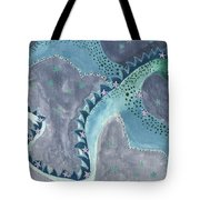 Star Sign Scorpio As A Dragon Tote Bag