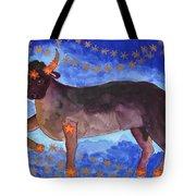 Star Sign Taurus Tote Bag