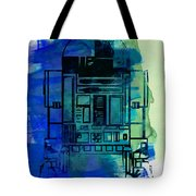 Star Warriors Watercolor 4 Tote Bag