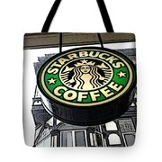 Starbucks Logo Tote Bag