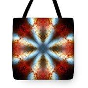 Starburst Galaxy M82 V Tote Bag