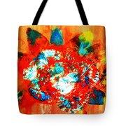 Starburst Nebula Tote Bag
