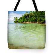 Starfish And Clear Water Tote Bag