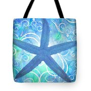 Starfish By Jan Marvin Tote Bag