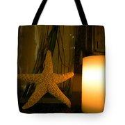 Starfish Candleglow Still Life Tote Bag