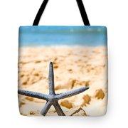 Starfish On Algarve Beach Portugal Tote Bag