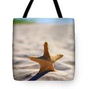 Starfish On The Beach Tote Bag