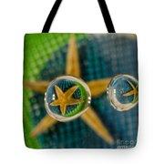 Starfish Refraction Tote Bag