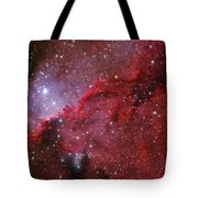 Starforming Emission Nebula Ngc 6188 Tote Bag