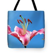 Stargazer Lily Series 1 Of 4 Tote Bag